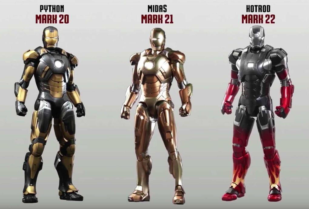 Iron Man Mark 20 的黑金