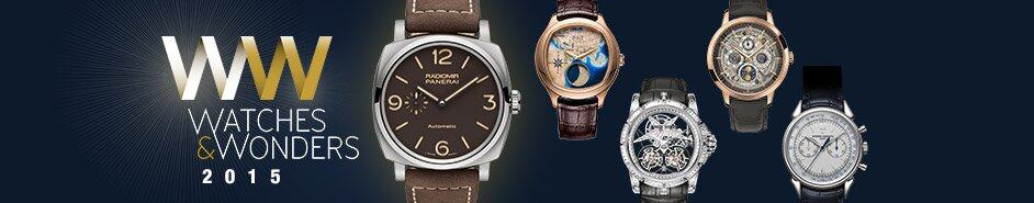 Watches & Wonders 2015