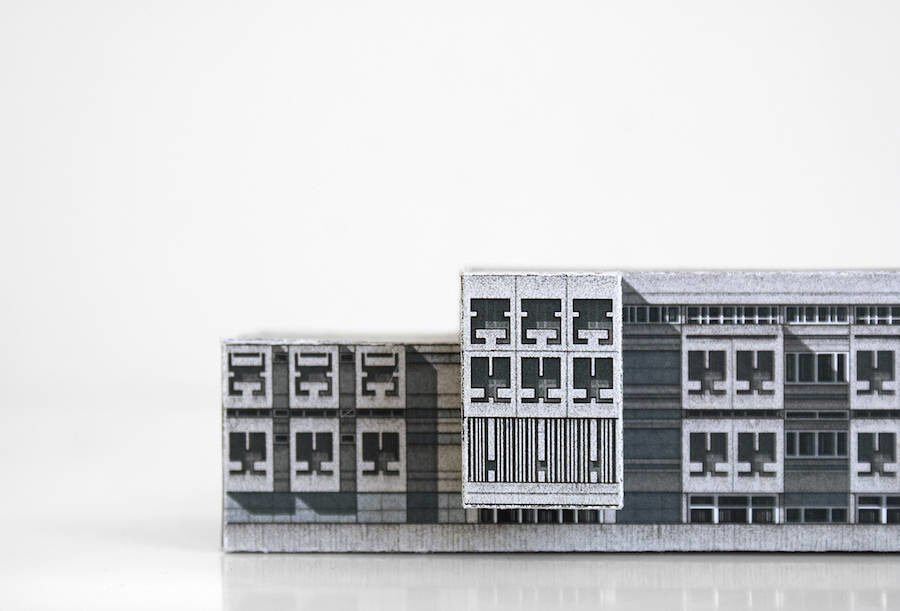 Zupagrafika,illustrated paper cut-out architecture,建築,歐洲建築