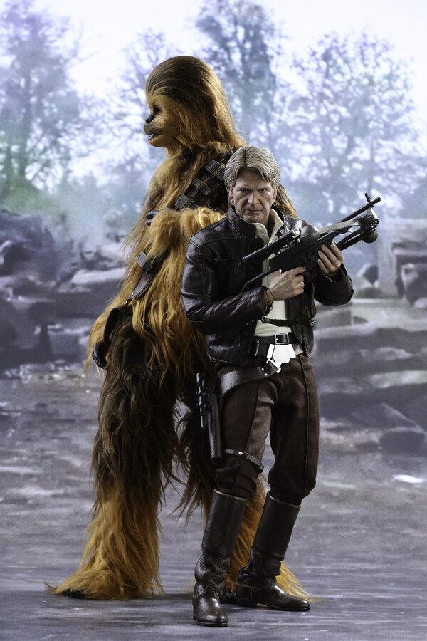 Hot Toys Han Solo,Chewbacca