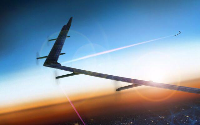 Facebook太陽能無人機,Facebook Aquila first flight,Aquila試飛