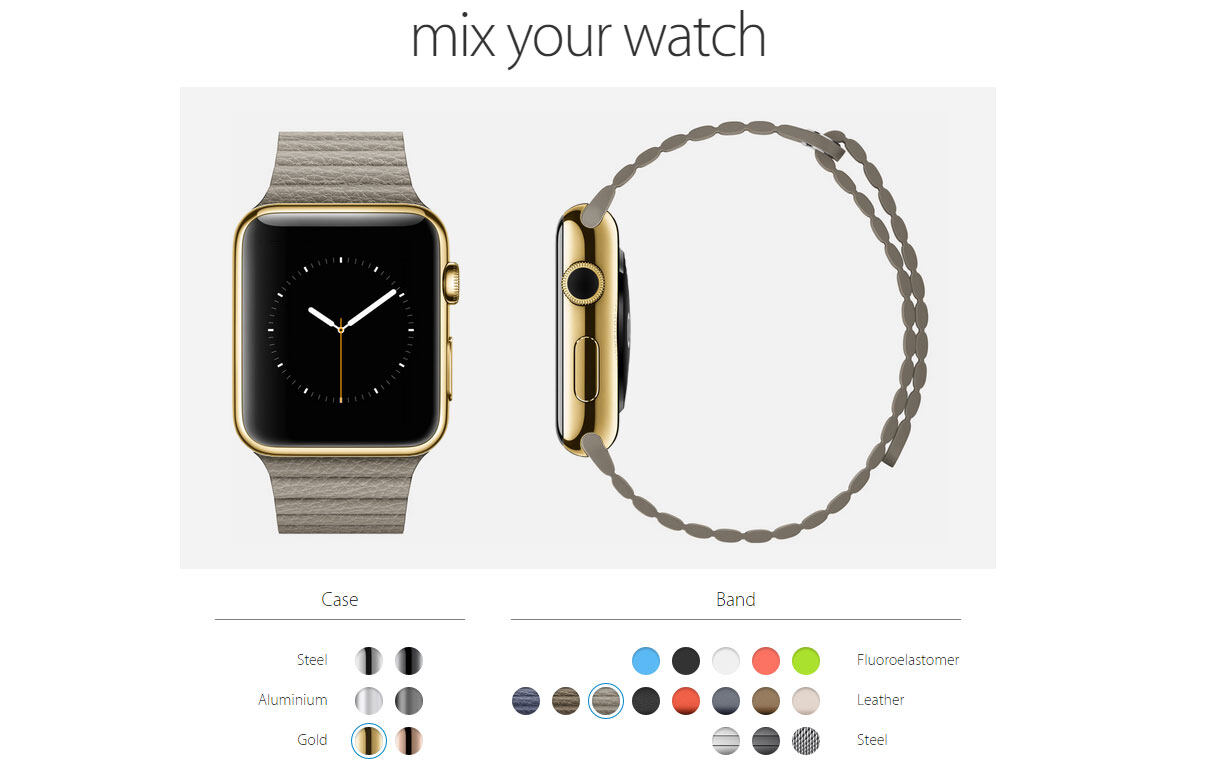mix your watch, Apple Watch