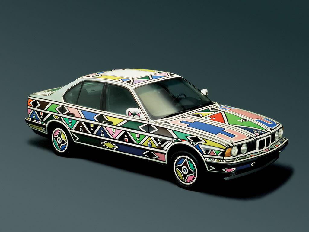 BMW,Esther Mahlungu,BMW Art Car