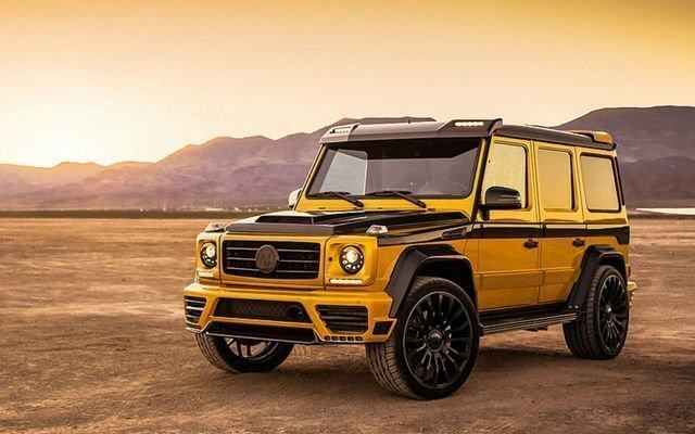 Mercedes-Benz G-Class,Mansory,Mercedes-Benz