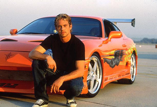 The Fast and the Furious, Paul Walker, Toyota Supra