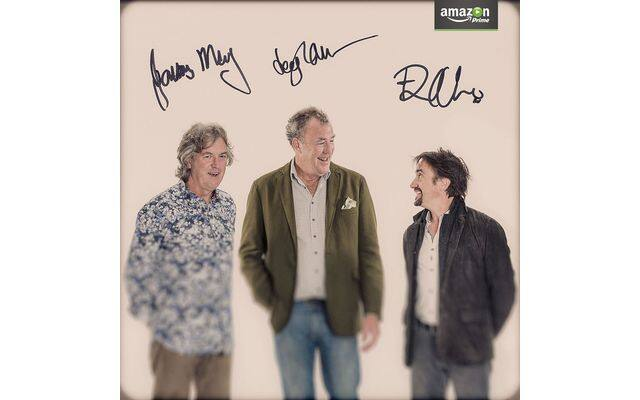 TOP GEAR, Amazon, Drive2Prime, Jeremy Clarkson, Richard Hammond, James May