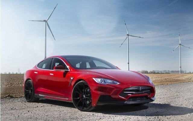 Tesla Model S Elizabeta by Larte-Design,改裝
