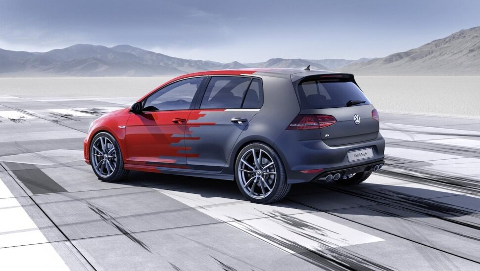 Volkswagen Golf R Touch概念車