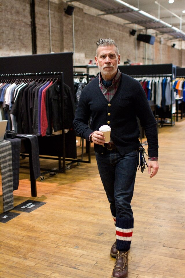 NIck Wooster Cardigan