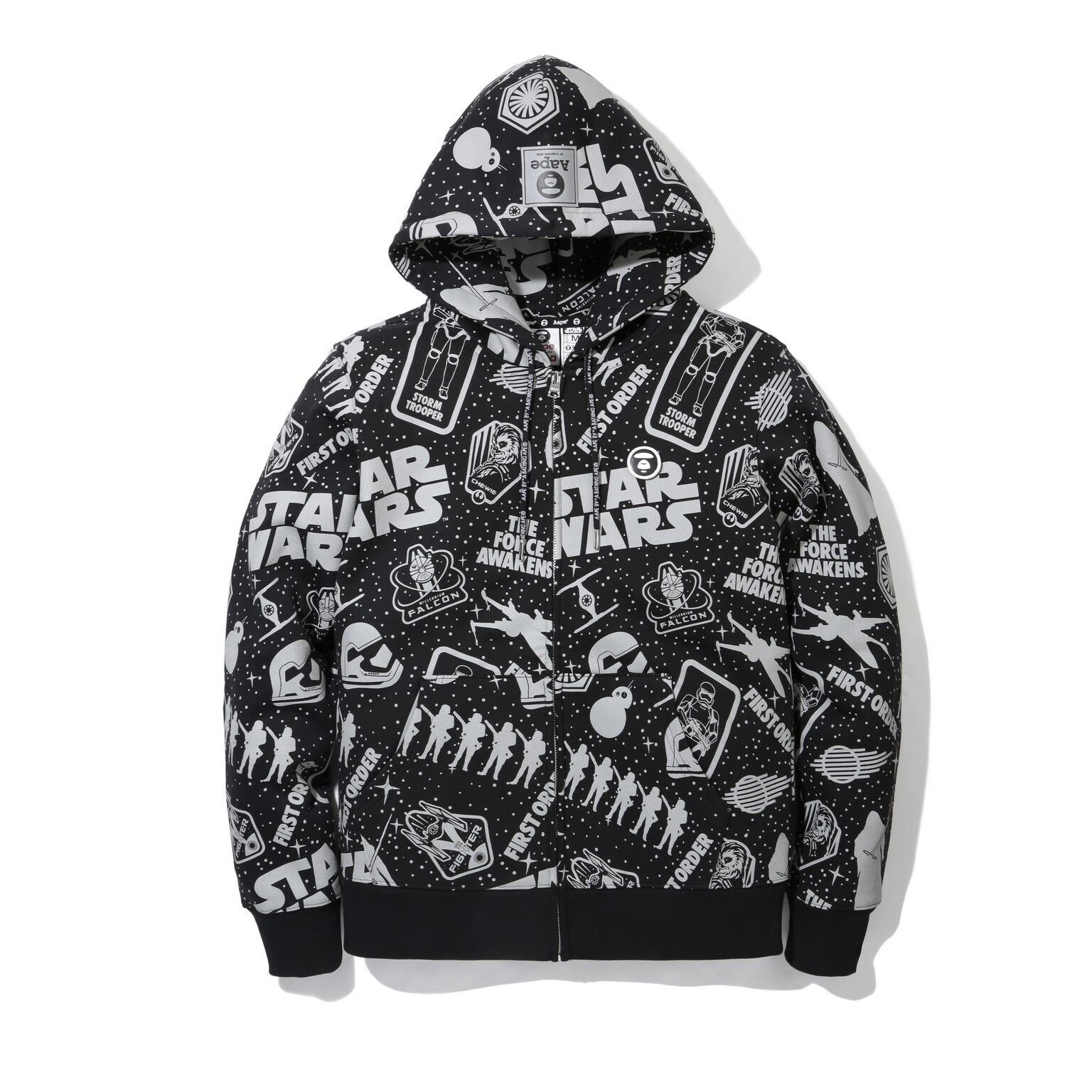 AAPE BY A BATHING APE STAR WARS, AAPE, 星球大戰:原力覺醒