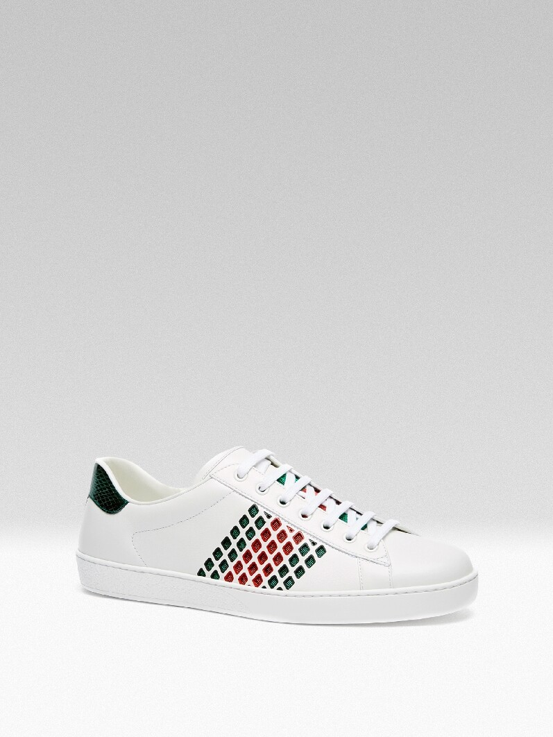 Gucci Ace Sneakers, 初秋Ace Sneakers