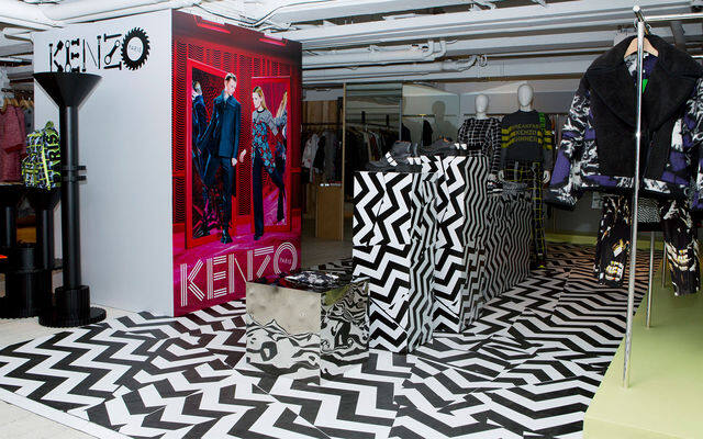 Pop-up Store, Snack, Kenzo, I.T