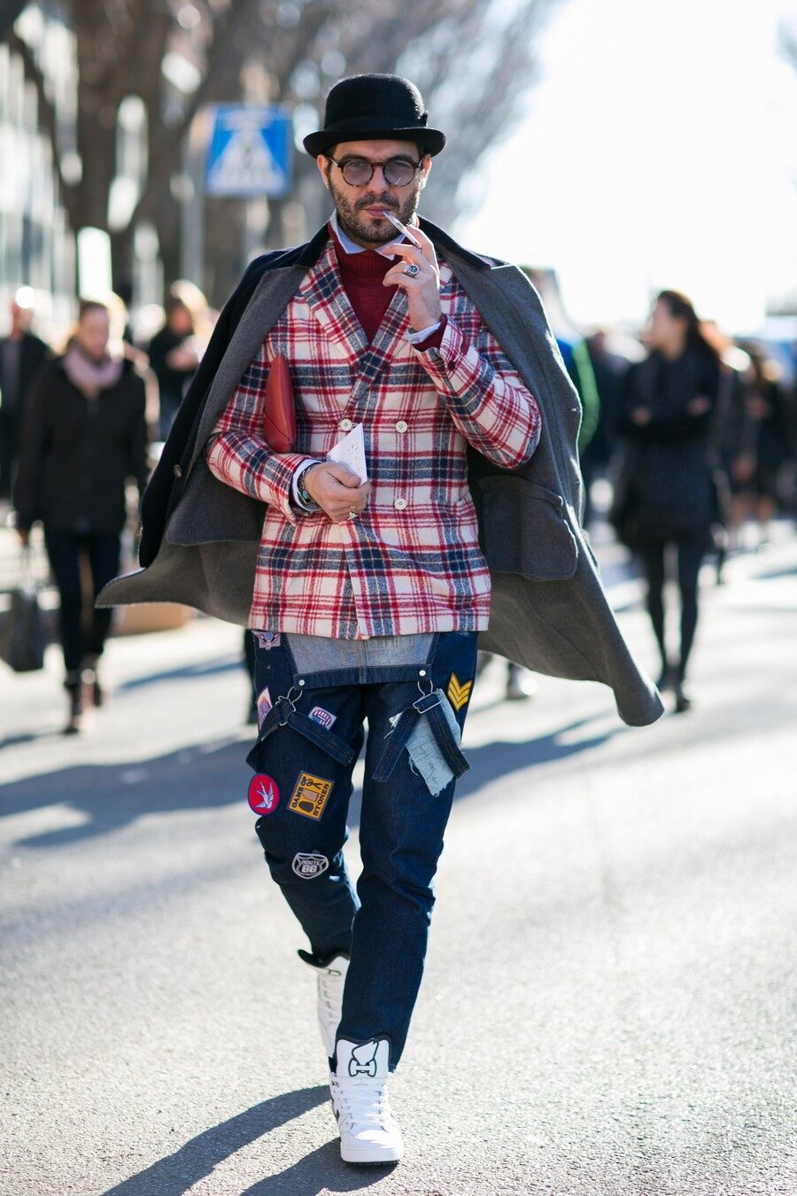 Milan Pattern, Fashion Week Live, Street Style, FW16