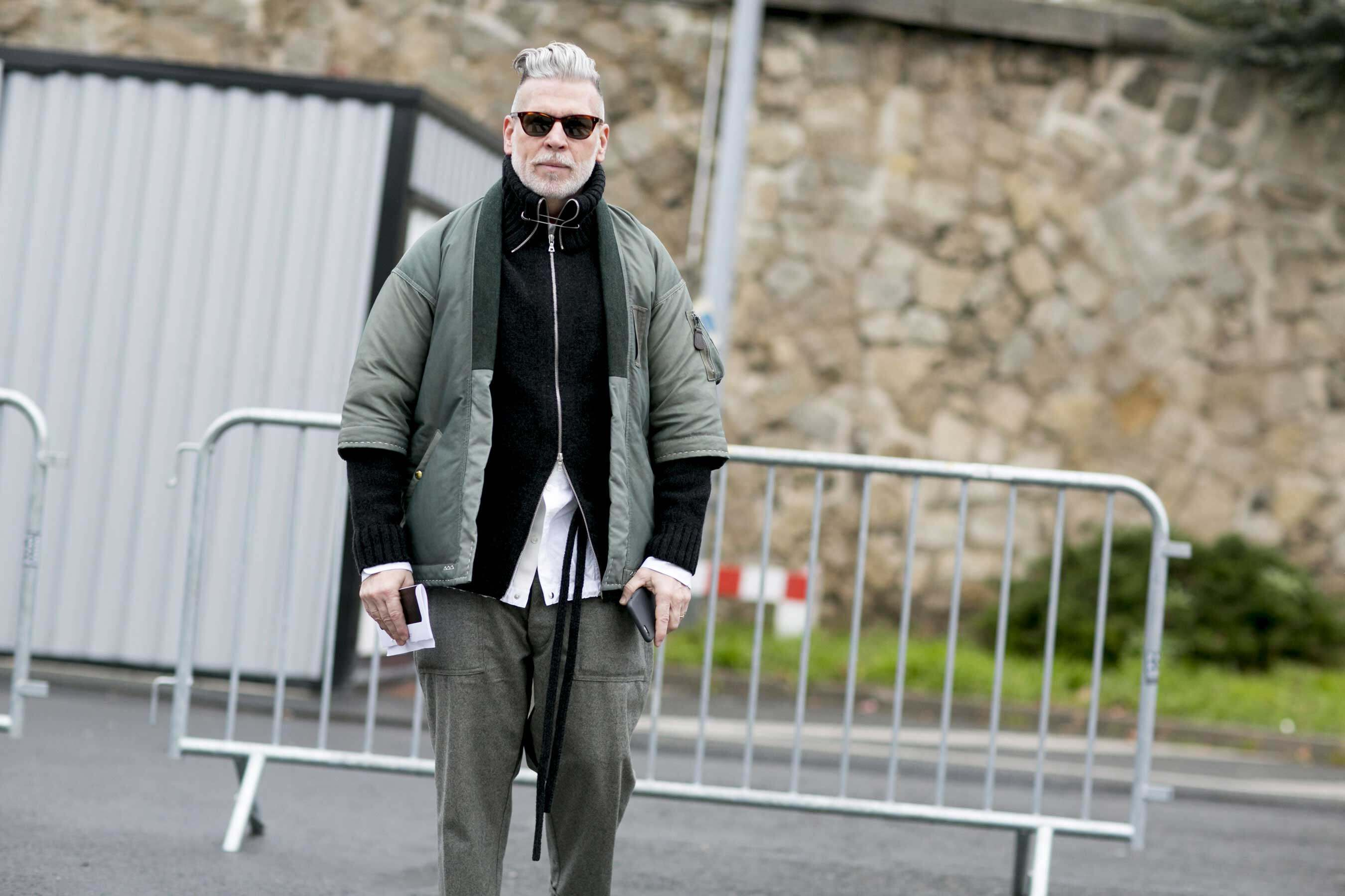 Nick Wooster, FW16, Fashion Week, Street Style