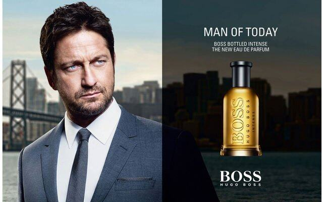 謝拉畢拿, Gerard Butler, 男士香水, HUGO BOSS, BOSS BOTTLED INTENSE