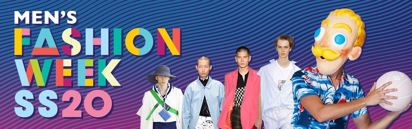 SS20 Men's Fashion Week